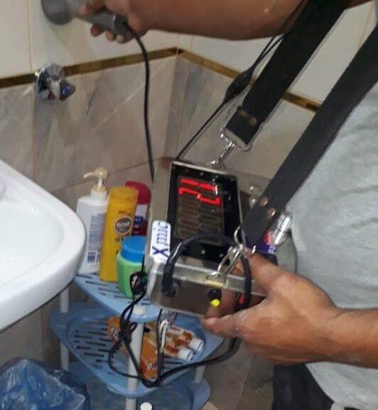 شركة كشف تسربات المياه بالدمام 0500806539 فحص و صيانة حمامات بالدمام