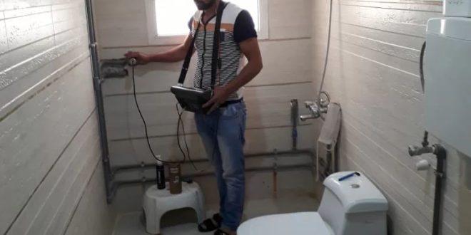 شركة كشف تسربات المياه بالنعيرية 0500806539 فحص شامل للتسربات